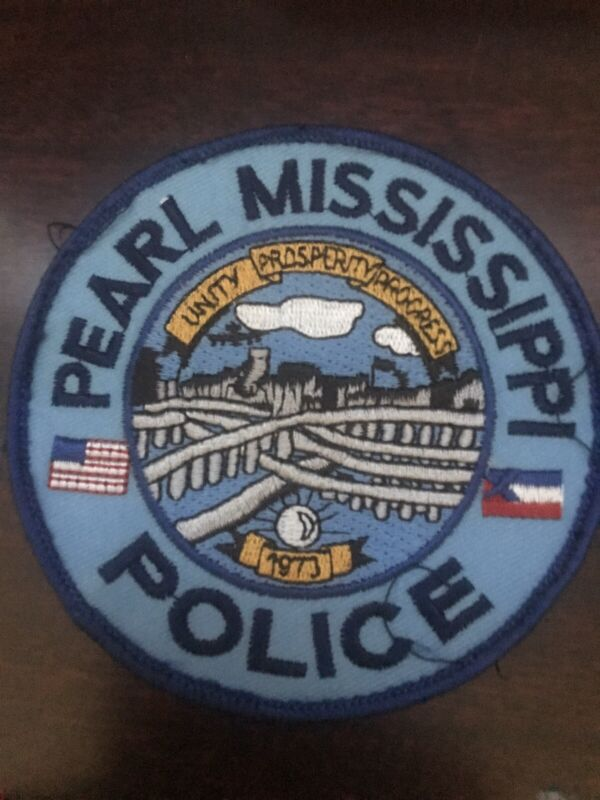 PEARL MISSISSIPPI POLICE DEPARTMENT COLORED SHOULDER PATCH ~NICE~