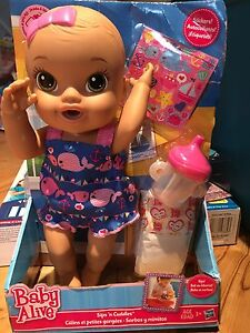 New baby alive doll