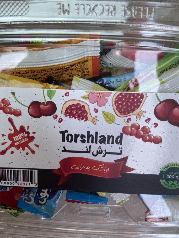 lavashak fruit bar