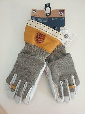 Hestra Alpine Pro Army Leather unisex size 6 XS Gloves RRP £120.00