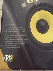 KRK Rokit 5 Studio Monitor x2 Casuarina Tweed Heads Area Preview