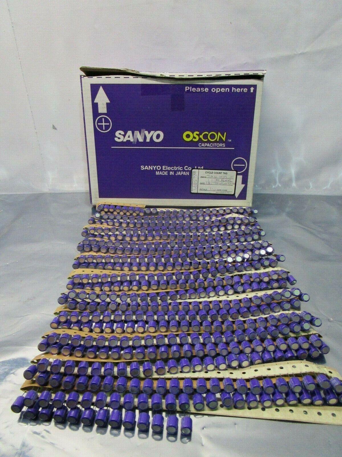 1 Lot of 500 Sanyo 270uF OS-CON Capacitor, 16V, 102376
