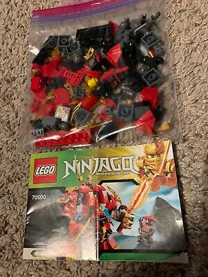LEGO Ninjago Set Kai's Fire Mech 100% Complete with Instructions