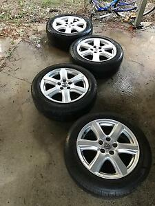 """Toyota camry sportivo 17"""" wheels and tyres x4 St Lucia Brisbane South West Preview"""