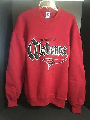 Alabama Sweatshirt (Pre-owned Alabama Sweat Shirt XL - Crimson Red with Embroidered B&W UA Alabama )