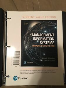 Itm 102 management information systems textbook