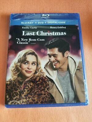 NEW - Last Christmas (Blu-ray & DVD,2019 + Digital) Free Shipping!!