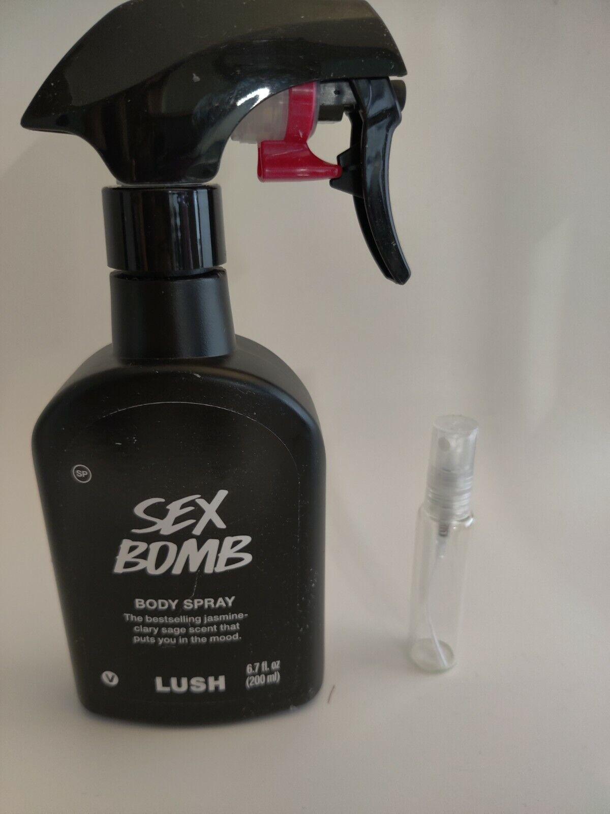 Lush Cosmetics Body Spray Pick Your Scent 10 ml 5