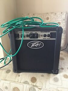 Peavey Amp and cable.