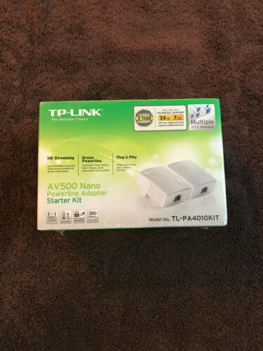 TP-Link AV500 Nano Powerline Adapter TL-PA4010