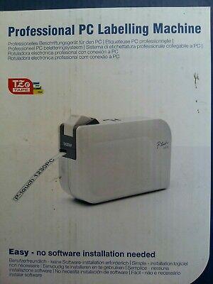 Impresora Rotuladora de Etiquetas Profesional Conexión PC Brother P-Touch 1230PC, usado segunda mano  Embacar hacia Mexico