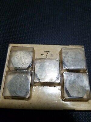 5 Valenite Hpc 633 Carbide Grade Vc28 Inserts Cutters