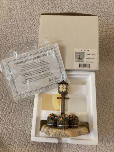 Vtg Hummel Goebel Figurine Clock Tower (Mark#1056-D) In  Box