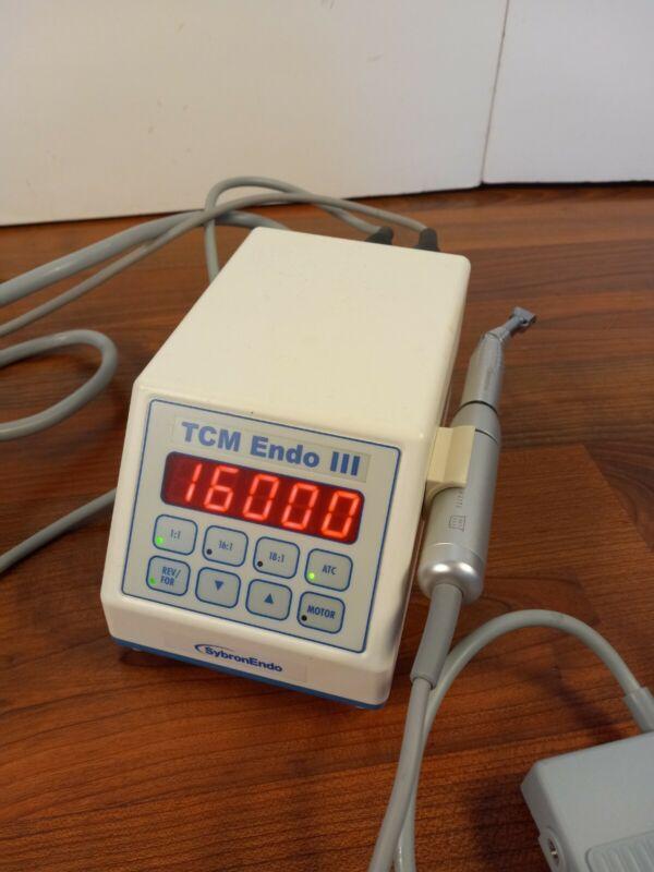 SybronEndo-Nouvag TCM III Endodontic Endo Motor - Sybron Kerr with handpiece