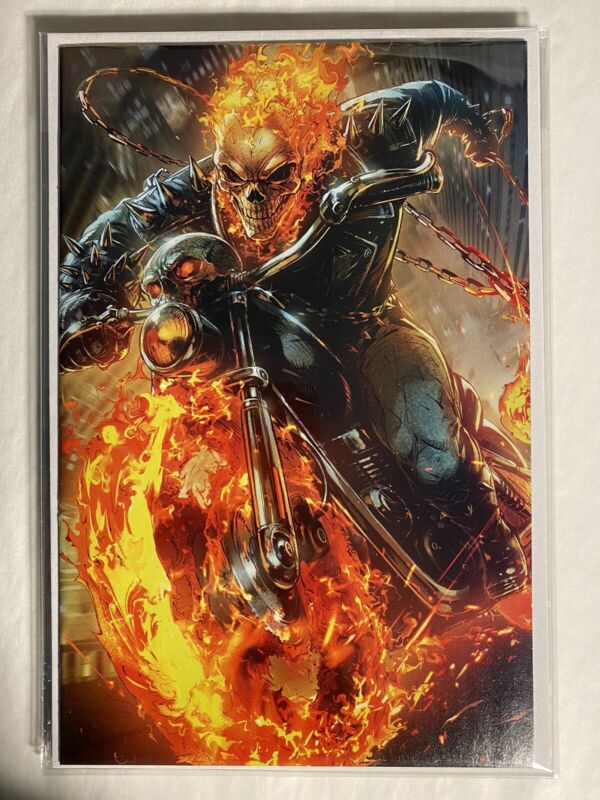 Marvel Cosmic Ghost Rider Comic #4 Battle Lines Virgin Cover Cates Lim NM
