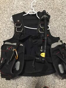 Sherwood scuba set complete with Sherwood computer (700 obo)