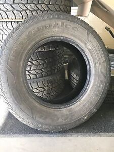 2 GOODYEAR ULTRA-GRIP ICE WINTER TIRES