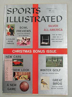 SPORTS ILLUSTRATED 1956 DECEMBER 24 CHRISTMAS BONUS ISSUE COLLEGE BOWL GAMES prv ()
