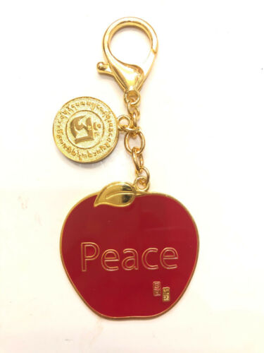 2021 Feng Shui Apple Peace Anti Conflict Amulet Keychain USA SELLER