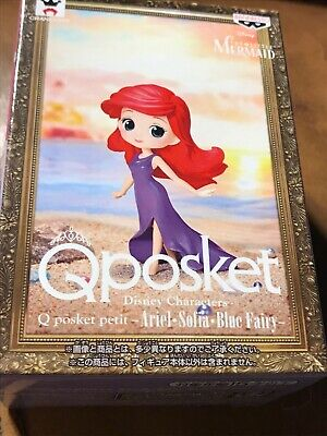 Q Posket Disney Characters Petit Ariel Figure Qposket BANPRESTO Little Mermaid