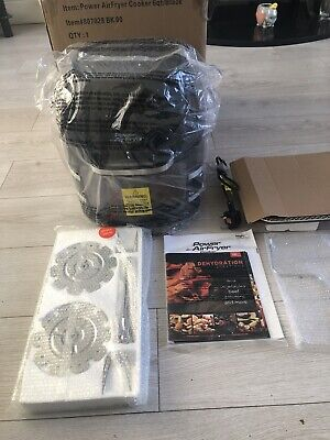 Power Air Fryer Cooker 5.7 ltr Rotisserie, air Fryer, Dehydrator Used Once