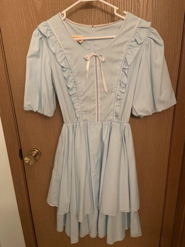 Vintage Western Square Dance Dress (size 10)