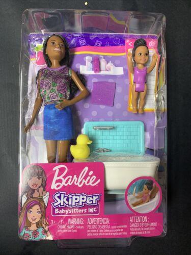 Barbie Skipper Babysitters Inc. Bath Time Playset With Toddler Doll 2018 NIB - $7.00
