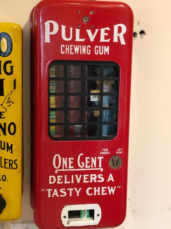 PULVER CHEWING GUM MACHINE
