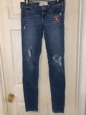 Hollister ~ Women's Skinny Jeans ~ Size 5L / W27 / L33