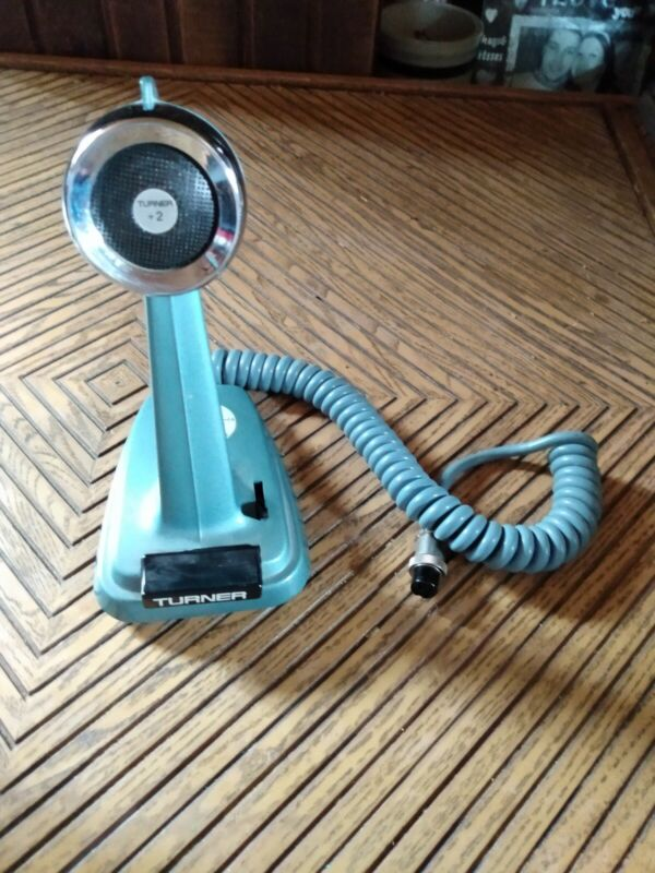 Turner +2 Microphone/ working condition / Fast Shipping tested working