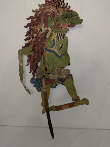 Authentic Antique Vintage Indonesian Balinese Shadow Puppet