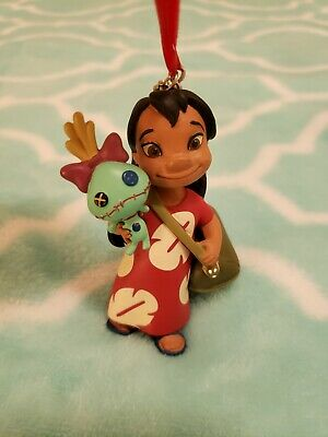"Disney Store 2017 Sketchbook ""Lilo & Stitch"" - Lilo & Scrump Ornament"