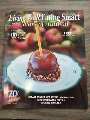 LIVING WELL EATING SMART MAGAZINE - RECIPES, SQUASH, HALLOWEEN - OCTOBER 2006 - Squash Halloween Recipes