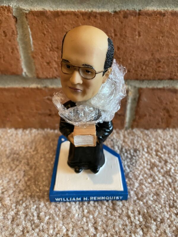 William Rehnquist [blue] Bobblehead Green Bag Supreme Court Justice - new in box
