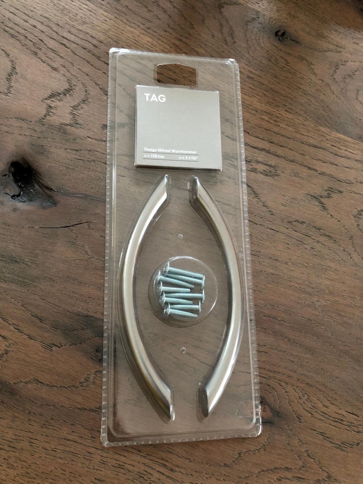 IKEA Möbelgriff Modell: Fintorp silber Lochabstand