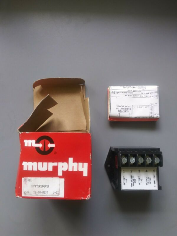 Murphy Ets30s Magnetic Switch Time Stop Delay
