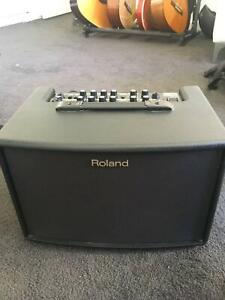 Roland AC-60 (acoustic chorus amp) - Two channels with reverb