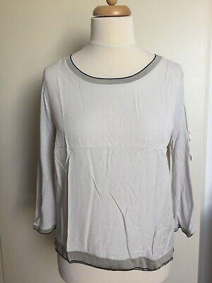 Fehlkauf: Beiges Blusenshirt von MARC O'POLO in Gr. L (Gr. 40) **NEU**  online kaufen