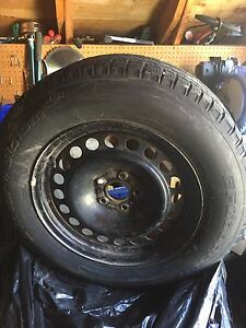 BF Goodrich Winter Slalom KSI on rims Ford Edge