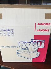 Janome cover pro 1000cpx Glamorgan Vale Ipswich City Preview