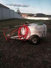 Ride on trailer with spray unit Singleton Singleton Area Preview