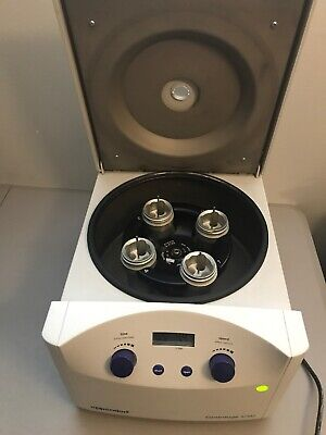 Eppendorf 5702 Centrifuge With Swing Rotor Buckets Adapters