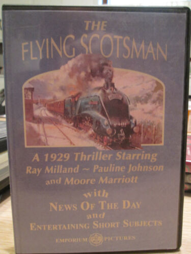 Railroad DVD Movie: The Flying Scotsman by Emporium Pictures