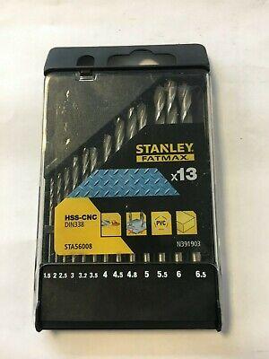 STANLEY STA56008 Metallbohrer-Set 13tlg. Fat