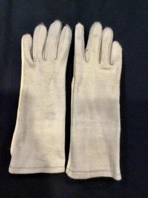 Hatch Gloves BNG210 Nomex Flight Glove Large LG Slightly Used Tan Gloves