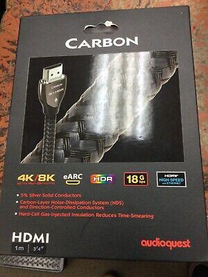 AUDIOQUEST CARBON HDMI CABLE NUOVO GARANZIA ITALIA