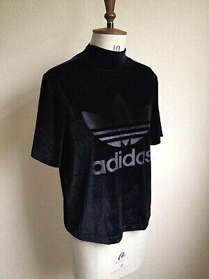 Adidas Velour Polo Beck Tee Shirt 10