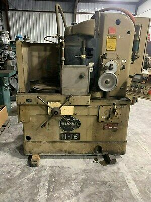 11-16 Blanchard Vertical-spindle Rotary Surface Grinder