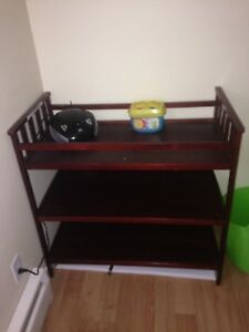 Changing Table w/ Shelves