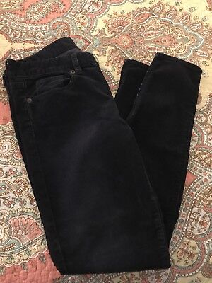 Navy Cord Pants - Jcrew Womens Toothpick Cord Pants In Navy Blue Size 26